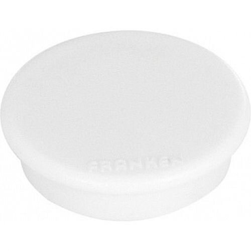 Franken MagFun Tacking Magnets Round 32mm White Pack of 10 HM30 09