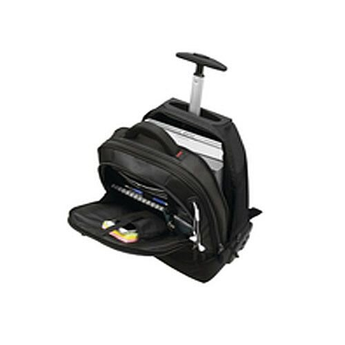 Motion II 2 In 1 Wheeled Laptop Backpack Black 3207
