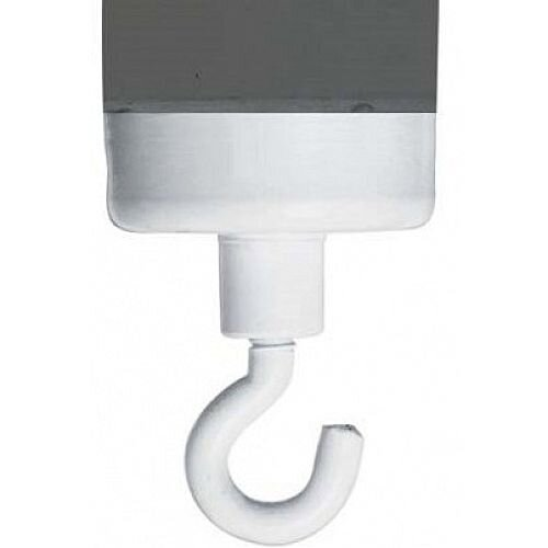 Franken Hook Magnet White Medium HM37