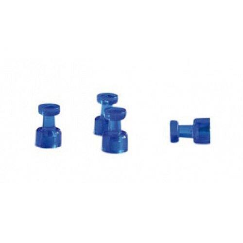 Franken Decorative Magnetic Memo Holders Blue Pack of 4 HMH1803