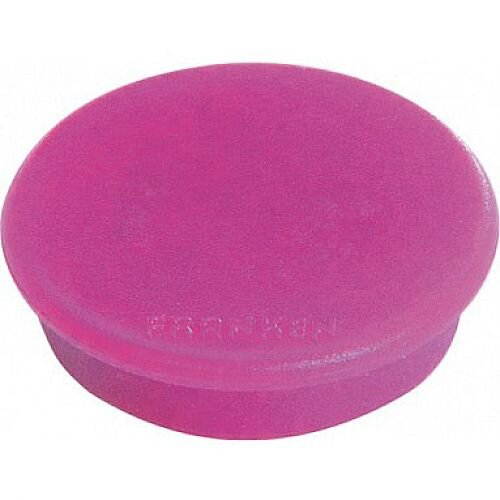 Franken MagFun Tacking Magnets Round 32mm Pink Pack of 10 HML30 07