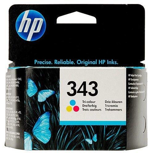 HP 343 Tri-colour Ink Cartridge C8766EE
