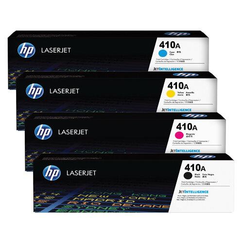 HP 410 Toner Cartridge Bundle Cyan/Magenta/Yellow/Black Pack of 4 HP815968