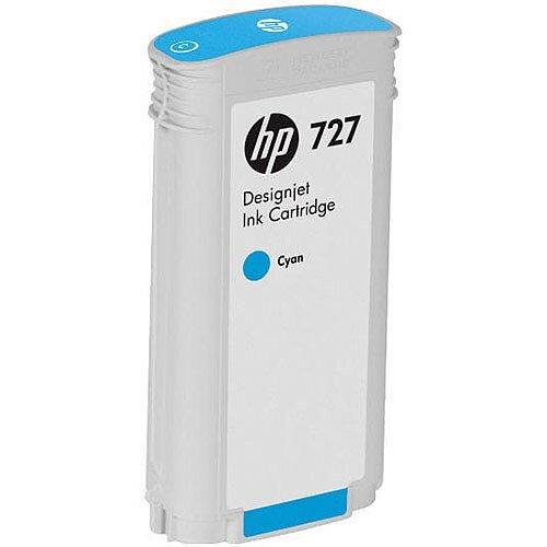 Hp 727 130Ml Ink Cartridge Cyan B3P19A