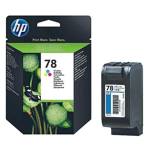 HP 78 Tri-color Inkjet Cartridge C6578D