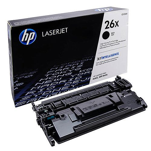 HP 26X Black High Yield Toner Cartridge CF226X For HP Laser Printers &MFP's, Easy To Replace, High Yield Cartridges With Consistent Results
