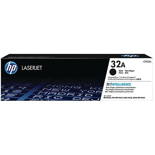 HP 32A LaserJet Imaging Drum CF232A - best performance from your laser printer - provide crisp and clear print output every time - For use with HP LaserJet Pro M203/MFP M227 series printers