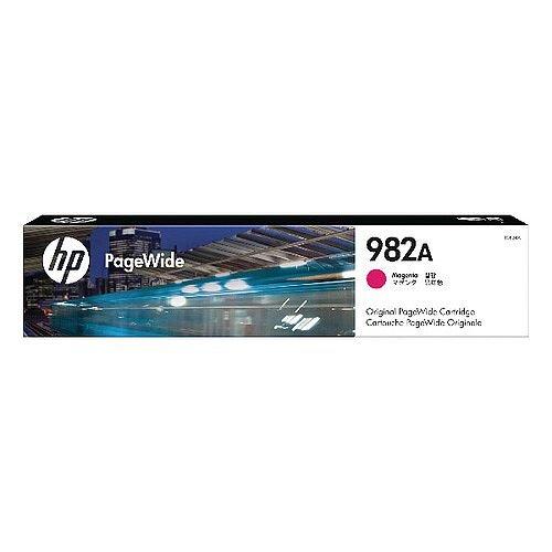HP 982A Magenta Original PageWide Cartridge T0B24A