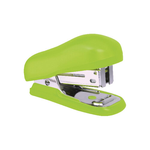 Rapesco Bug Mini Stapler Green Blister Pack of 12 1411