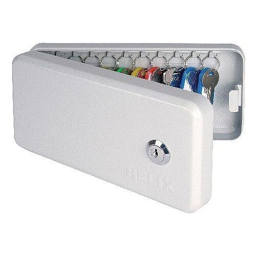 Helix Keysafe Cabinet 10 Key Capacity Grey Key Safe Cabinet