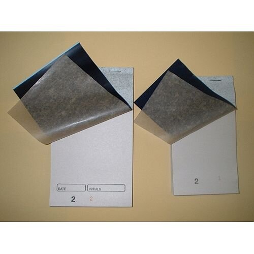 Prestige Whitebox White Small Restaurant Duplicate Pads Numbered 1-50 Carbon Pack 50