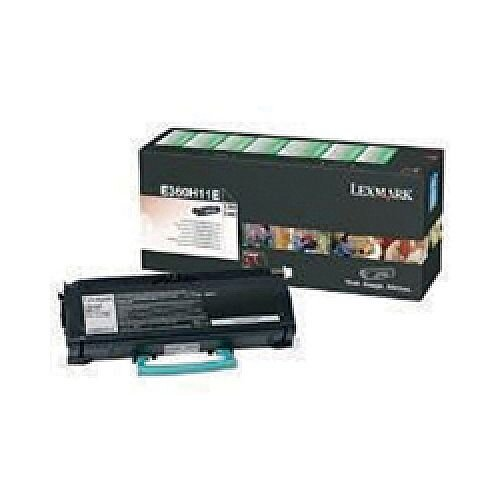 Lexmark Black Toner Cartridge High Capacity E360H31E