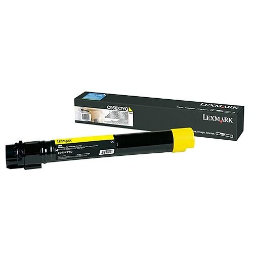 Lexmark Toner Cartridge Yellow C950X2YG