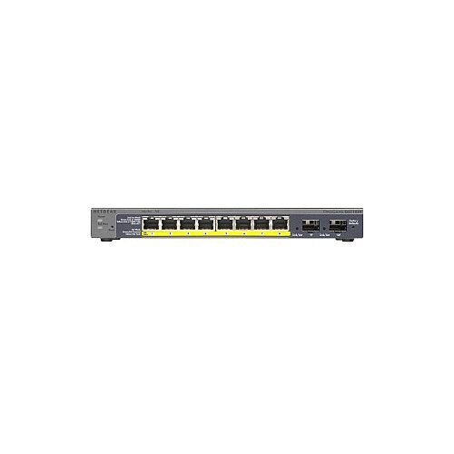 Netgear ProSafe GS110TP 8 Ports Manageable Ethernet Switch 2 Layer Supported Desktop Wall Mountable