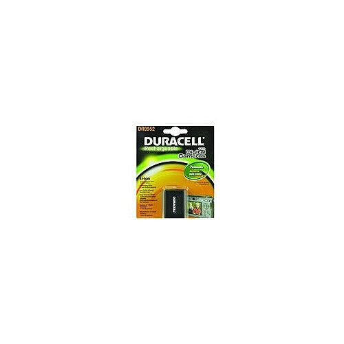 Duracell Camera Battery 1020 mAh Lithium Ion 7.4 V DC Rechargeable