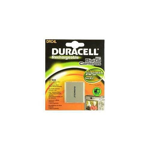 Duracell DRC4L Camera Battery 700 mAh Proprietary Battery Size Lithium Ion 3.7 V DC Rechargeable