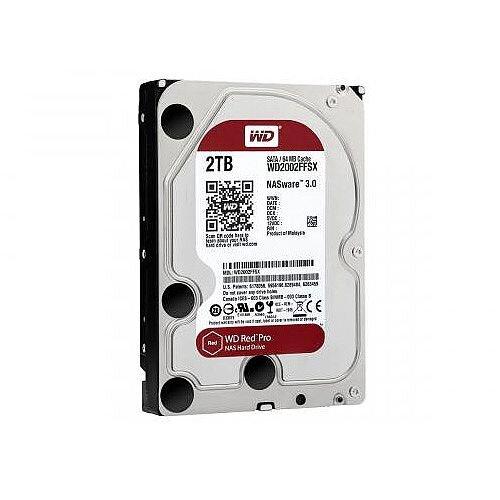 WD Red Pro 2 TB 3.5in Internal Hard Drive SATA 7200rpm 64 MB Buffer