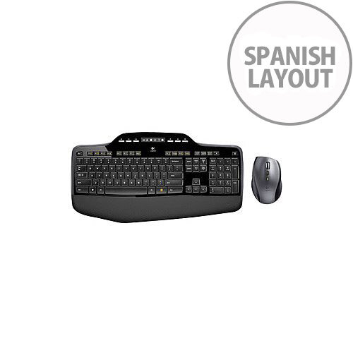 Logitech Wireless Desktop MK710 Keyboard &Mouse USB Wireless RF Keyboard USB Wireless RF Mouse Laser