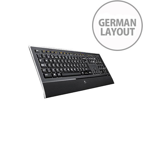 ILLUMINATED KEYBOARD K740 USB UNIFYING GR