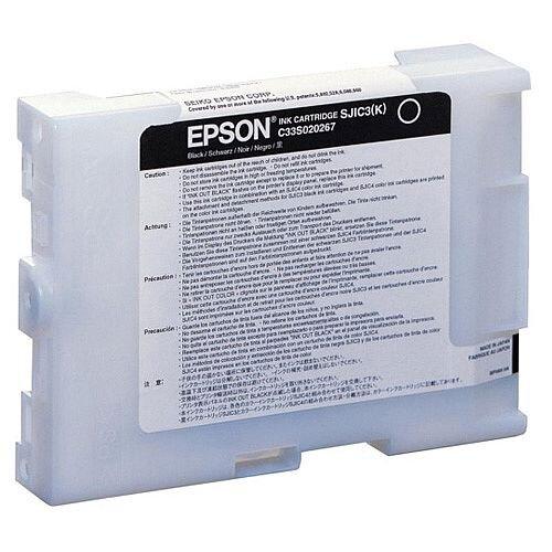 Epson SJIC3 Black Original Ink Cartridge C33S020267