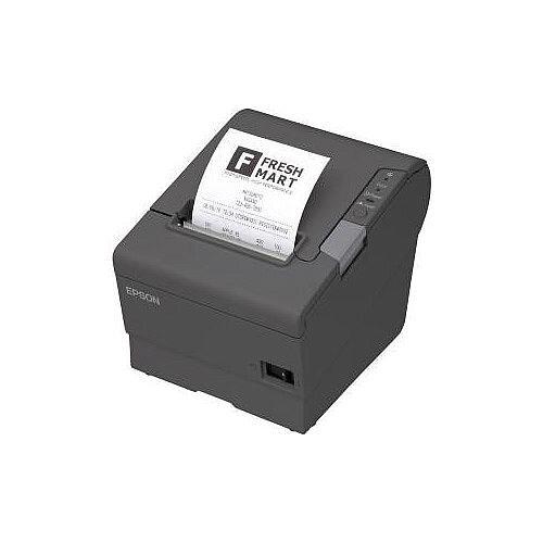 Epson TM-T88V Direct Thermal Printer Monochrome Desktop Receipt Print 72mm 2.83in Print Width 300 mm/s Mono 180 x 180 dpi 4 KB USB Serial 80mm Label Width
