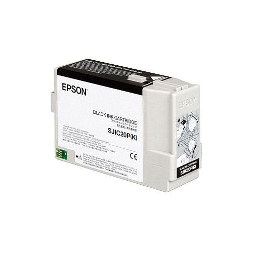 Epson SJIC20P Black Original Ink Cartridge C33S020490