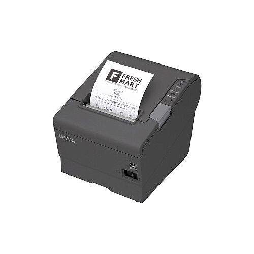 Epson TM-T88V Direct Thermal Printer Monochrome Desktop Receipt Print 72mm 2.83in Print Width 300 mm/s Mono 180 x 180 dpi 4 KB Serial 80mm Label Width