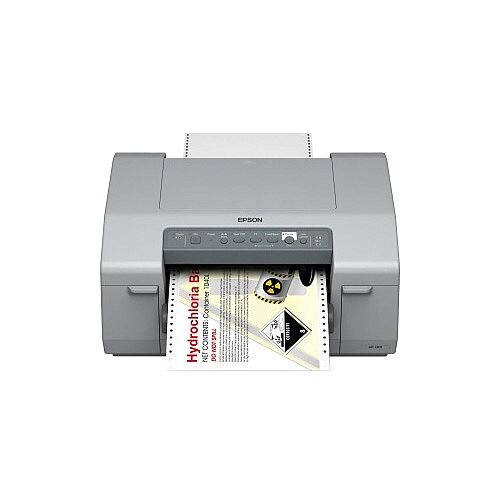 Epson GP-C831 Inkjet Printer Colour Desktop Label Print 203mm 7.99in Print Width 92 mm/s Color 5760 x 1440 dpi USB Parallel Ethernet 241mm Label Width