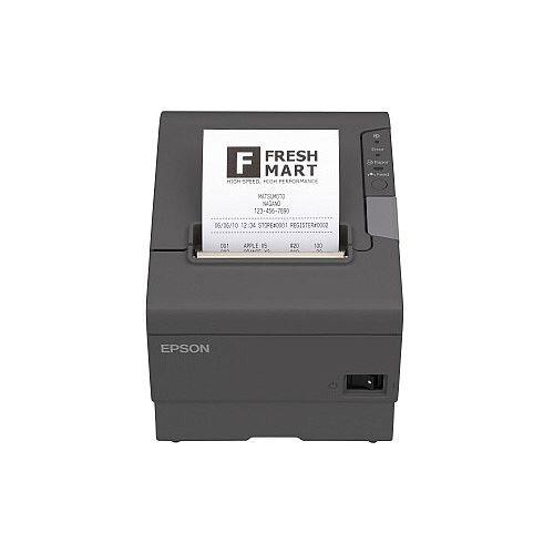 Epson TM-T88V Direct Thermal Printer Monochrome Desktop Receipt Print 72mm 2.83in Print Width 300 mm/s Mono 180 x 180 dpi 4 KB Bluetooth USB