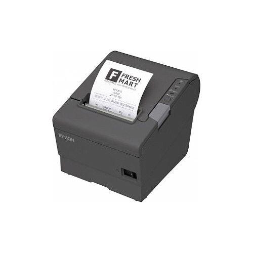 Epson TM-T88V Direct Thermal Printer Monochrome Desktop Receipt Print 72mm 2.83in Print Width 300 mm/s Mono 180 x 180 dpi 12 KB Serial 80mm Label Width