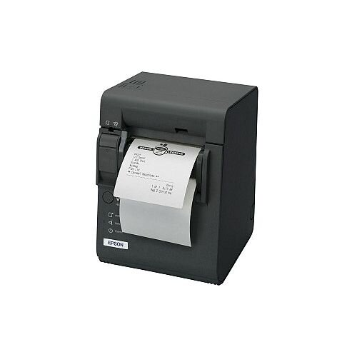 Epson TM-L90LF Thermal Transfer Printer Monochrome Desktop Receipt Print 170 mm/s Mono 203 x 203 dpi 4 KB USB Serial 80mm Label Width