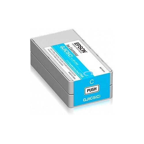 Epson GJIC5 C Cyan Original Ink Cartridge C13S020564