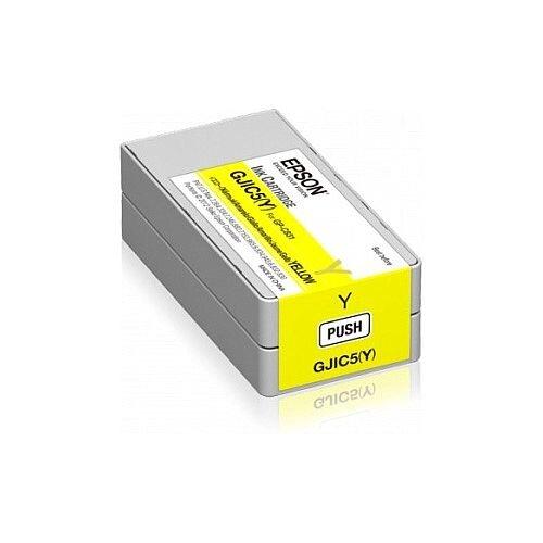 Epson GJIC5 Y Yellow Original Ink Cartridge C13S020566