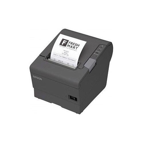Epson TM-T88V 033A1 Direct Thermal Printer Monochrome Desktop Receipt Print 300 mm/s Mono 180 x 180 dpi 4 KB USB Serial 79.50mm Label Width