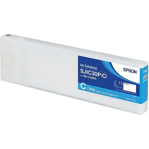 Epson SJIC30P C Cyan Original Ink Cartridge C33S020640