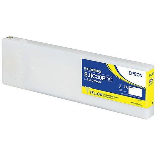 Epson SJIC30P Y Yellow Original Ink Cartridge C33S020642