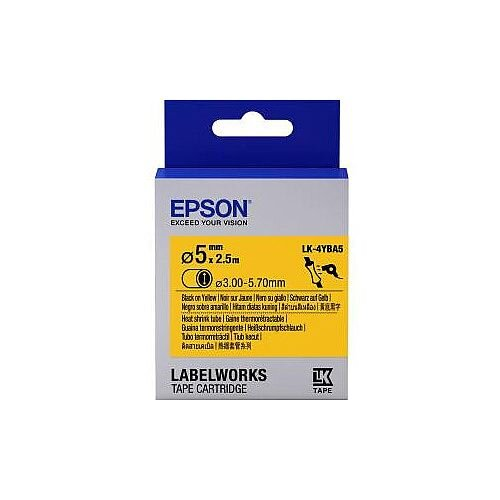 Epson LabelWorks LK-4YBA5 Label Tape 2500mm Length Thermal Transfer White C53S654906