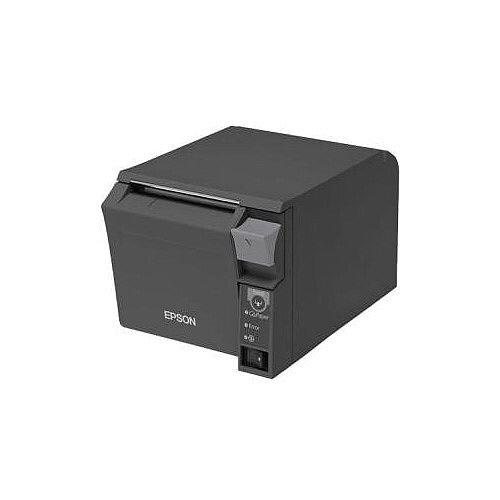 Epson TM-T70II Direct Thermal Printer Monochrome Desktop Receipt Print 250 mm/s Mono 180 x 180 dpi 4 KB USB Ethernet Receipt, Thermal Paper 83mm Roll Dia