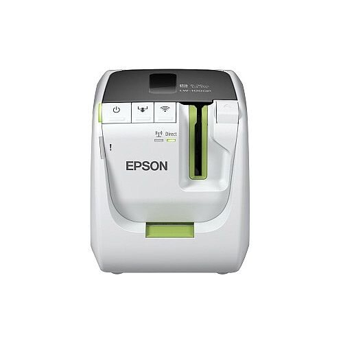 Epson LabelWorks LW-1000P Thermal Transfer Printer Monochrome Desktop Label Print 36mm 1.42in Print Width 35 mm/s Mono 360 dpi Wireless LAN USB Ethernet