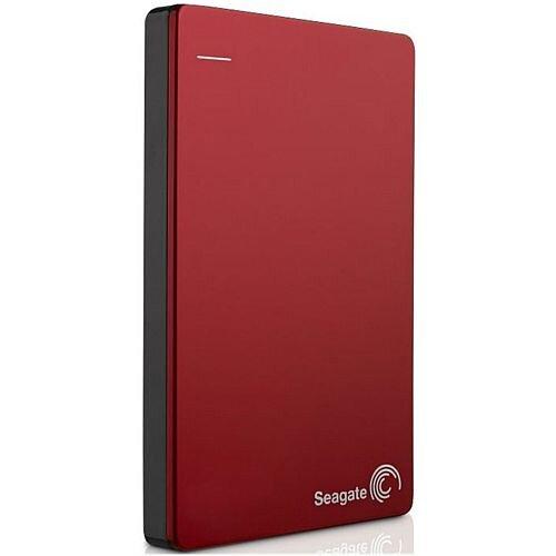 "Seagate Backup Plus STDR1000203 1 TB 2.5"" External Hard Drive USB 3.0 Portable Red"