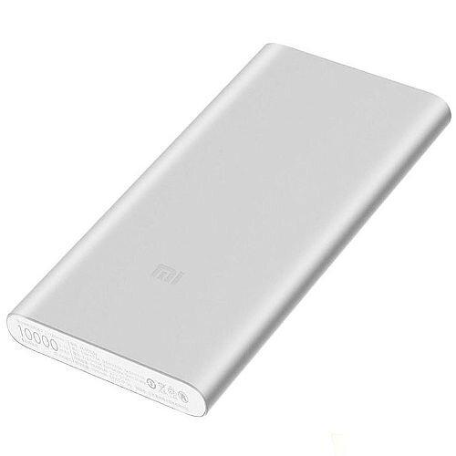 Xiaomi Power Bank 10.000mAh - Li-Ion - 1 x USB - 2A - Aluminium - Compatible with: mobile phone / smartphone, tablets, E-book readers, GPS, MP3/MP4