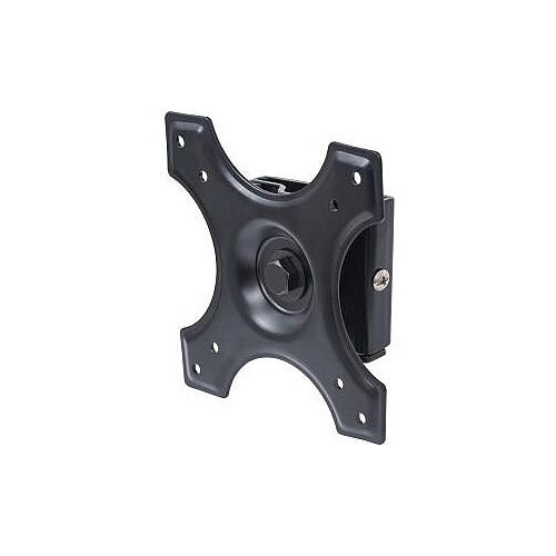 """Manhattan 422840 Wall Mount for Flat Panel Display 33 cm 13"""" to 55.9 cm 22"""" Screen Support 14.97 kg Load Capacity Die-cast Aluminum Steel Black"""