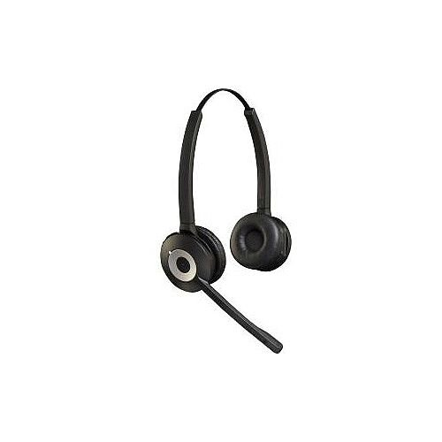Jabra Pro 920 Duo Wireless DECT Stereo Headset Supra-aural Black 120 m Yes