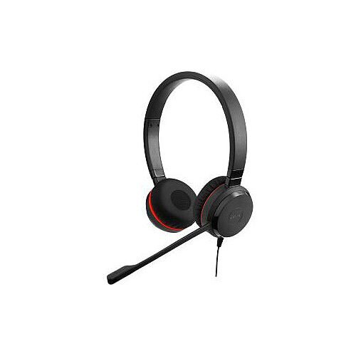 Jabra EVOLVE 30 II Wired Stereo Headset Over-the-head Supra-aural Mini-phone Yes