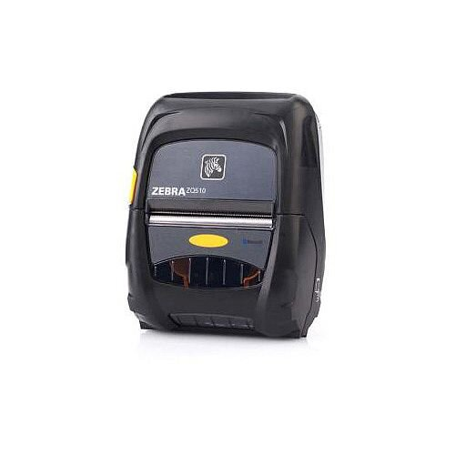 """Zebra ZQ510 Direct Thermal Printer Monochrome Portable Receipt Print 71.88 mm (2.83"""") Print Width 127 mm/s Mono 230 dpi 512 MB Bluetooth USB Receipt Tag 50.80 mm Roll Diameter 80.01 mm Label Width 990.60 mm Label Length"""