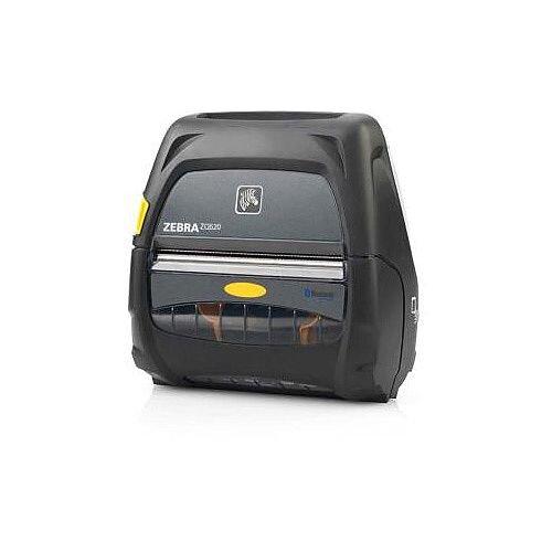 """Zebra ZQ520 Direct Thermal Printer Monochrome Portable Receipt Print 103.89 mm (4.09"""") Print Width 127 mm/s Mono 230 dpi 512 MB Bluetooth USB Receipt Tag 56.90 mm Roll Diameter 113.03 mm Label Width 990.60 mm Label Length"""