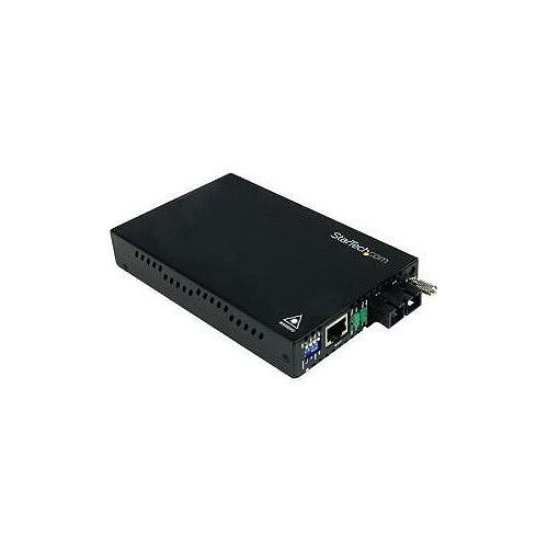 StarTech 10/100 Mbps Multi Mode Fiber Media Converter ST 2 km 10/100Base-TX 100Base-FX Desktop Rack-mountable