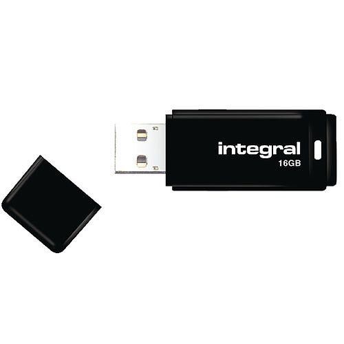 Integral Memory Stick USB 2.0 16GB Black