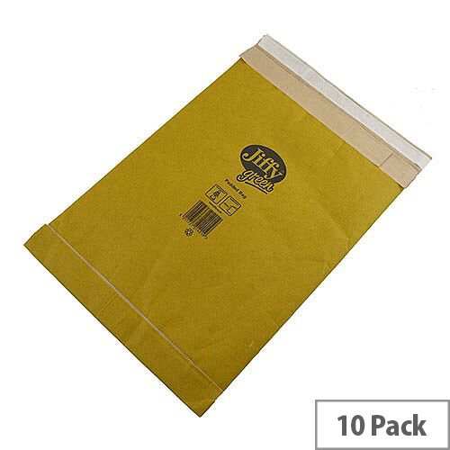 Jiffy Padded Bag Size 7 Gold Envelopes 341x483mm 10 Pack