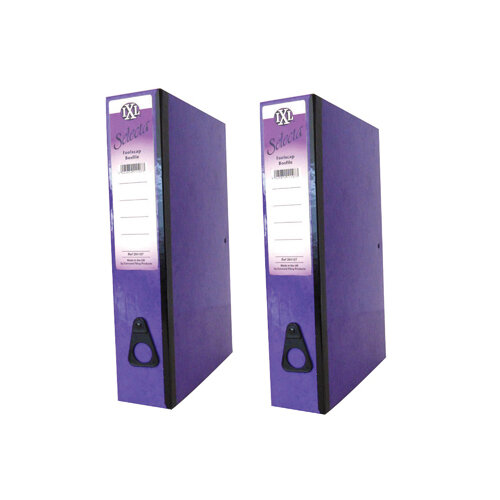 Concord IXL Selecta Box File Foolscap Purple Pack of 10 BOGOF JT816015